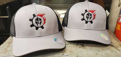 Gray and Black Trucker Hats