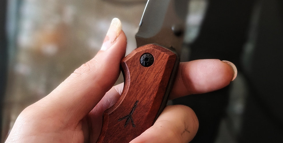 MARK OF THE WOOD WITCH POCKET KNIFE PENDANT