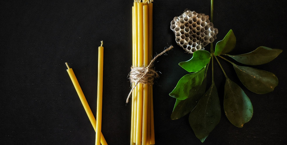 BEESWAX SPELL CANDLES
