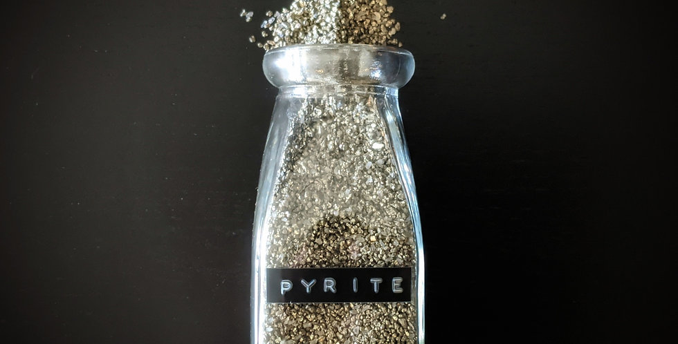 PYRITE (FOOL'S GOLD) DUST