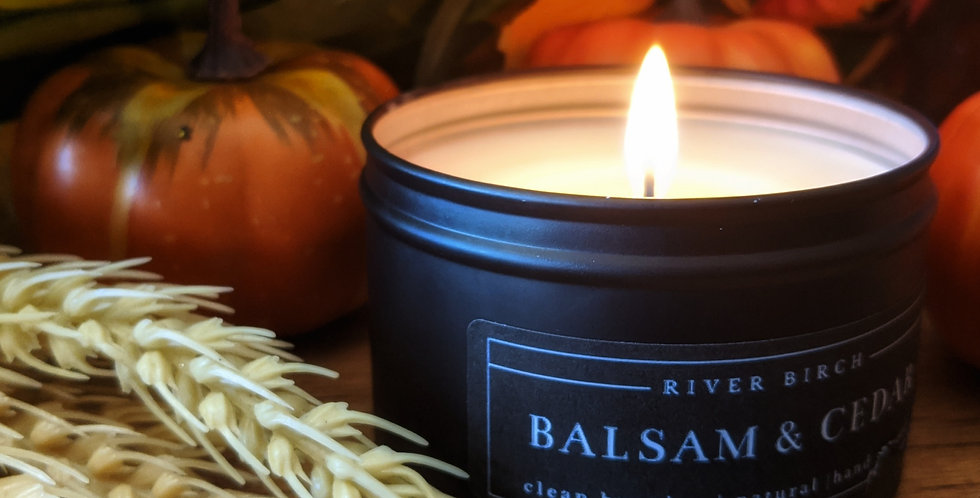 AUTUMNAL SOY CANDLES BY RIVER BIRCH