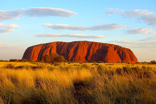 Foto Ayers Rock, Bild Ayers Rock, Foto Uluru, Bild Uluru, Foto Heiliger Stein, Bild Heiliger Stein