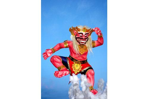 Dämonen Bali Poster, Bilder online kaufen, Bilder mit Rahmen kaufen, Bilder im Rahmen kaufen,