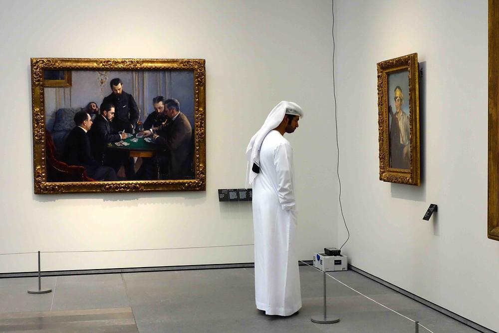 Louvre für Scheichs, Louvre für Araber, Publikum Louvre Abu Dhabi