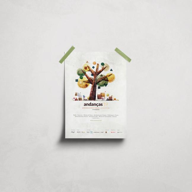 Poster Andanças'19