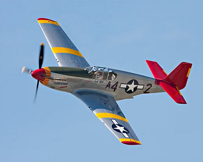 Red Tail P-51, indy, volunteer, history, about