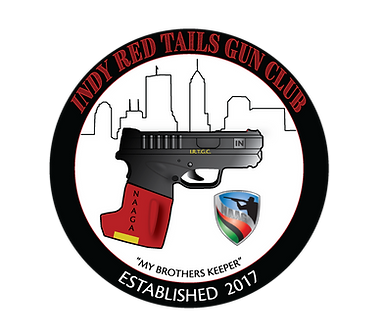 Indy, Red, Tails, Gun, Club, logo, naaga, indianapoli, chapter