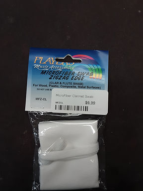 01. MFZCL PLAYERS microfiber clarinet swab