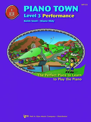 MP133 01.Piano Town Level 3 Performance