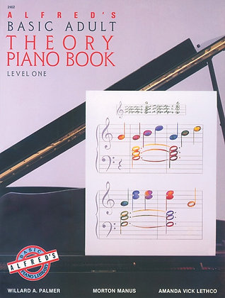 01.Alfred Basic Adult Piano Course Theory Book 1