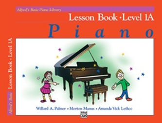 01.Alfred Basic Piano Library 1A Lessons