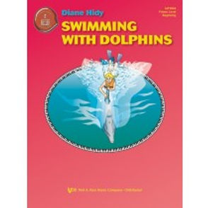 """MP1004 01.Piano Town """"Swimming With Dolphins"""" Primer Solo"""