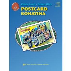 """MP1009 01.Piano Town """"Postcard Sonatina"""" Level 1 Solo"""