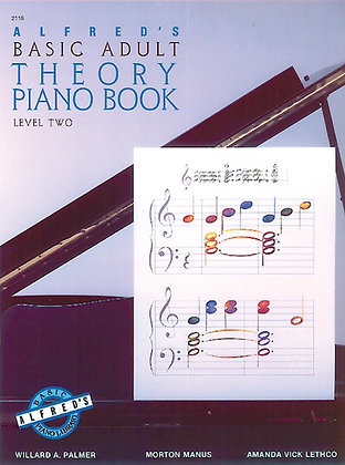 01.Alfred Basic Adult Piano Course Theory Book 2