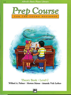 01.Alfred's Basic Piano Prep Course: Theory C