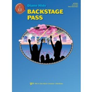 """01.Piano Town """"Backstage Pass"""" Level 1 Solo"""