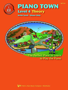 MP114 01.Piano Town Level 4 Theory