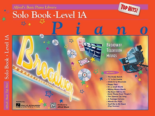 01.Alfred Basic Piano Library 1A Top Hits!