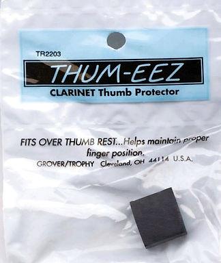 01. TR2203 Thumb EEZ Clarinet Thumbrest Cushion