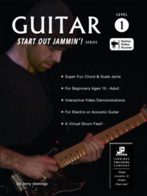Guitar 1 – Start Out Jammin'! (A Beginner Guitar Instruction Book & Online Video