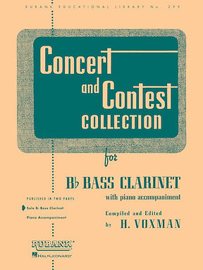 01.Rubank Concert & Contest Solos Bass Clarinet