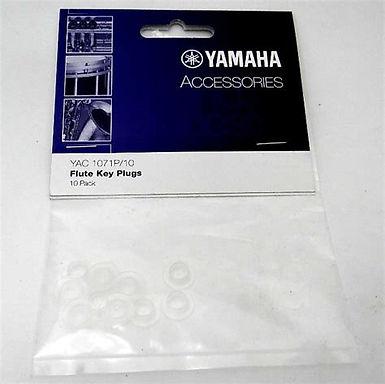 01. YAC1071P10 Yamaha Flute Key Plugs 10 pack