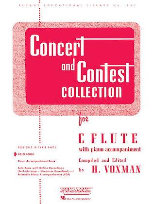 01.Rubank Concert  & Contest Solos C Flute