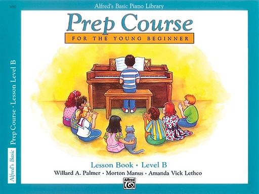 01.Alfred's Basic Piano Prep Course: Lesson B