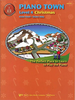 MP144 01.Piano Town Christmas Level 4