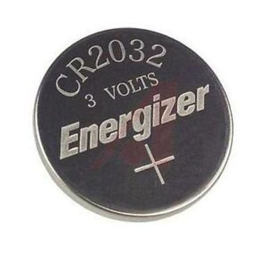 ECR2032 Energizer 3v battery (flat)