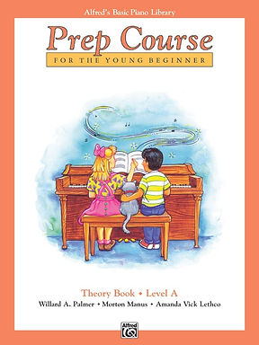 01.Alfred's Basic Piano Prep Course: Theory A