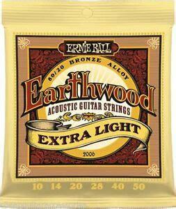 Ernie Ball Earthwood 2006 Extra-Light Strings set