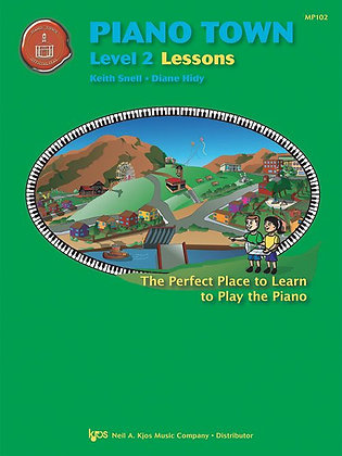 MP102 Piano Town Level 2 Lessons