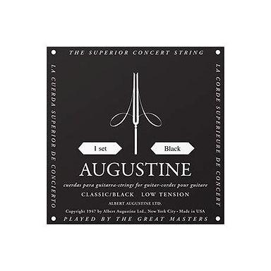 Augustine Black Classical Low Tension Strings (set)