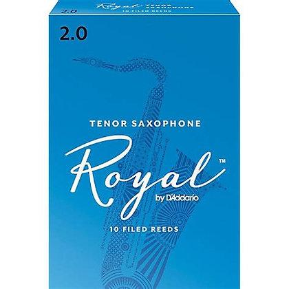 Royal Tenor Sax Reeds (10 Pack)