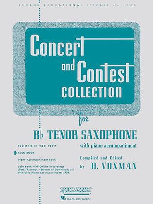 01.Rubank Concert & Contest Solos Tenor Sax