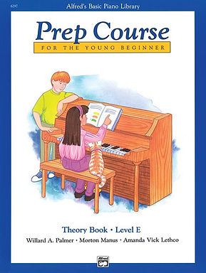 01.Alfred's Basic Piano Prep Course: Theory E