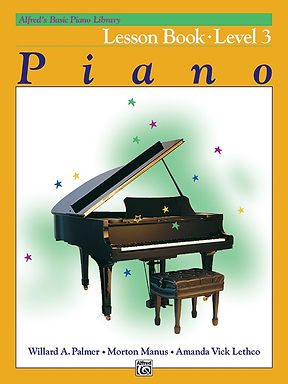 01.Alfred Basic Piano Library 3 Lesson