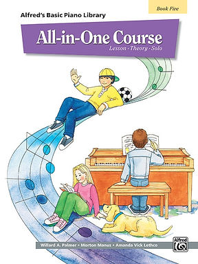 01.Alfred Basic Piano Library All In One Bk 5