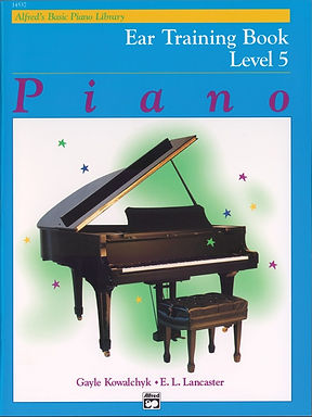 01.Alfred Basic Piano Library Ear Training 5
