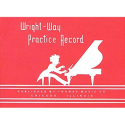 WW 01. Wright Way Practice Record Book