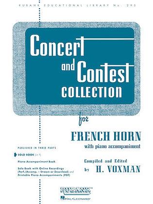 01.Rubank Concert  & Contest Solos F Horn