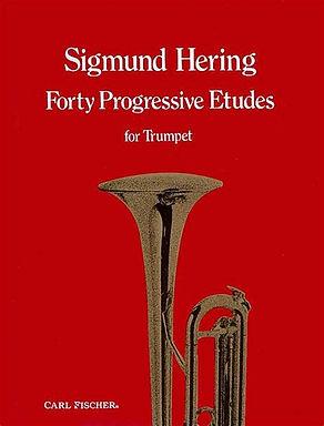 02. 03309 40 Progressive Etudes - Sigmund Hering