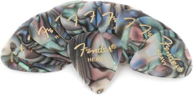 01.12-pack Fender Abalone Pick