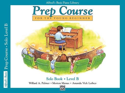 01.Alfred's Basic Piano Prep Course: Solo B