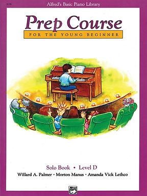 01.Alfred's Basic Piano Prep Course: Solo D