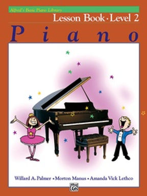 01.Alfred Basic Piano Library 2 Lesson