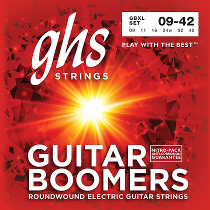 GHS Strings Electric Guitar Strings (GBXL)
