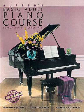 02.Alfred Basic Adult Piano Course Book 1