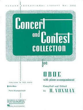 01.Rubank Concert & Contest Solos Oboe